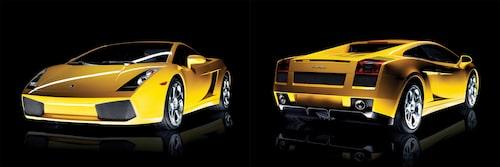 Lamborghini Gallardo som den, förmodligen i de flestas ögon, bör se ut.