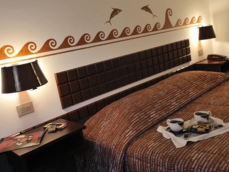 Chokladhotellet i Italien.