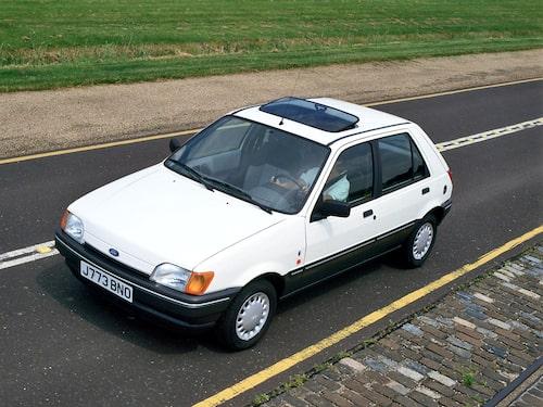 1989 Ford Fiesta 5-dörrars