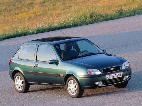1999 Ford Fiesta 3-dörrars (facelift)