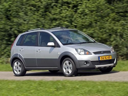 2008 Ford Fiesta Crossroad (såldes ej i Sverige)