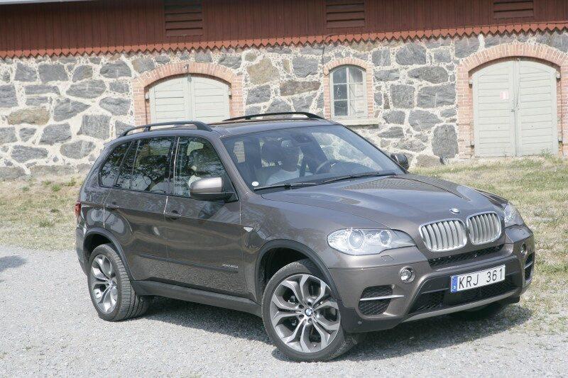 Provkörning av BMW X5 xDrive 40d