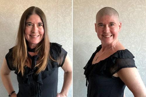 Förra året fick Camilla reda på ett hon hade bröstcancer och behandlades med operation och