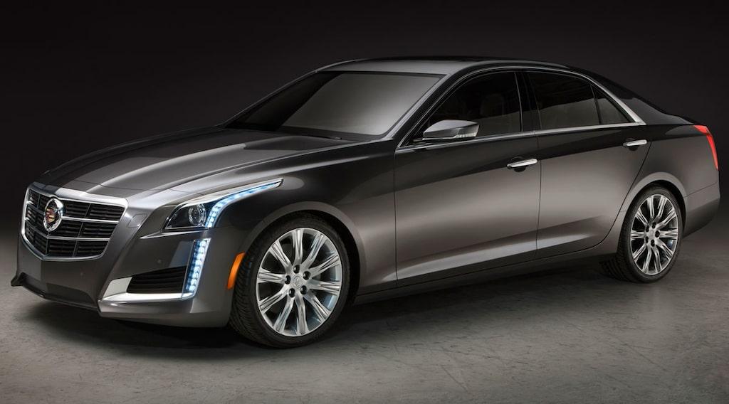 Nya Cadillac CTS