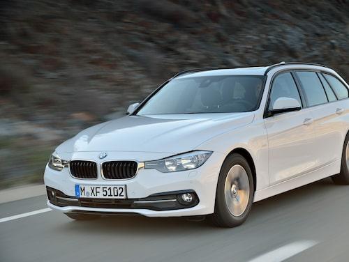BMW 320d Touring EfficientDynamics Edition Sport Line facelift 2016