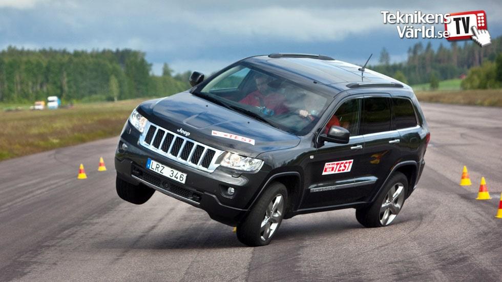 Jeep Grand Cherokee lethal in evasive maneuver