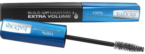 Recension av Build Up Mascara Extra Volume Waterproof 20 Black, Isadora.