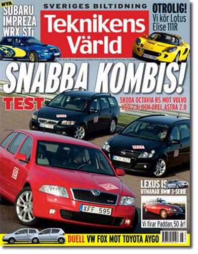 Teknikens Värld nummer 25 / 2005
