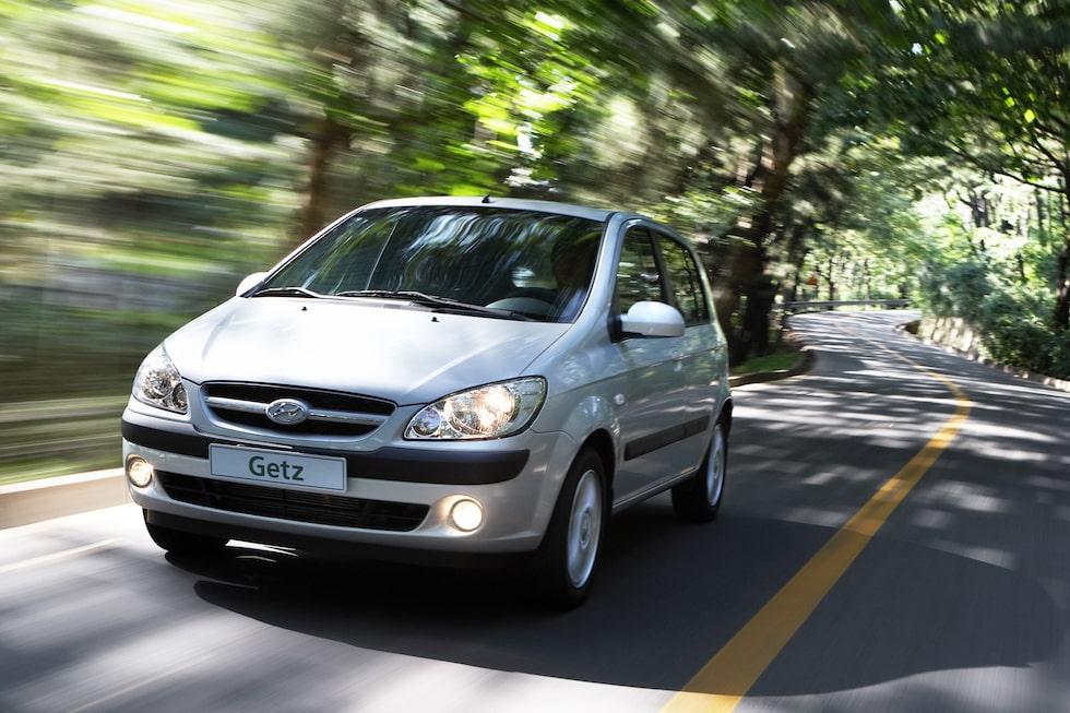 Provkörning av Hyundai Getz 1,4