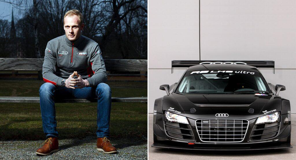 Edward Sandström och Audi R8 LMS Ultra