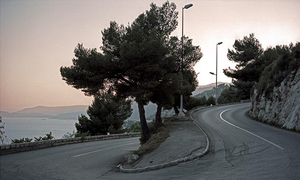 Den plats i Monaco där Grace Kelly förolyckades, foto av Christophe Rihet