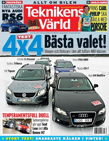 Teknikens Värld nummer 4 / 2008