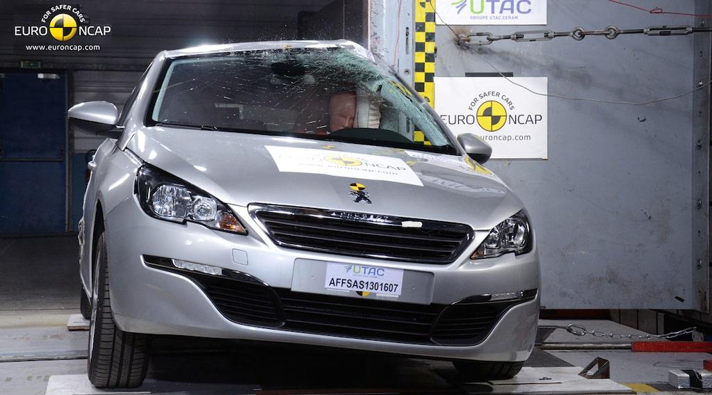 Peugeot 308 Euro NCAP krocktest