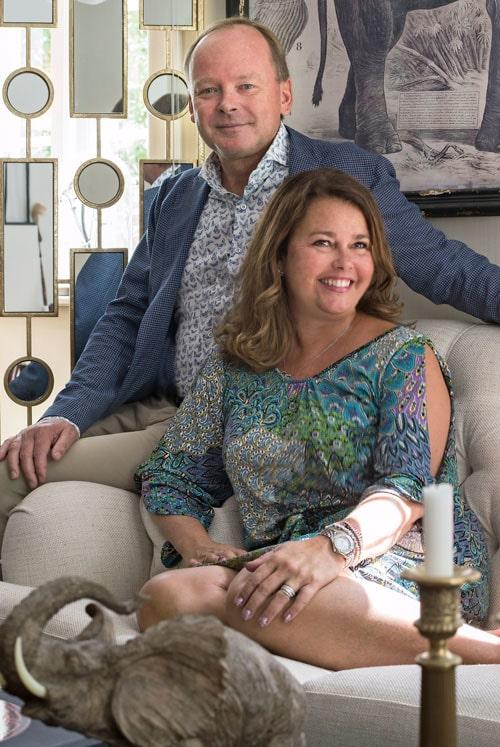 Michael och Camilla Englesson har bott i huset sedan 1996.