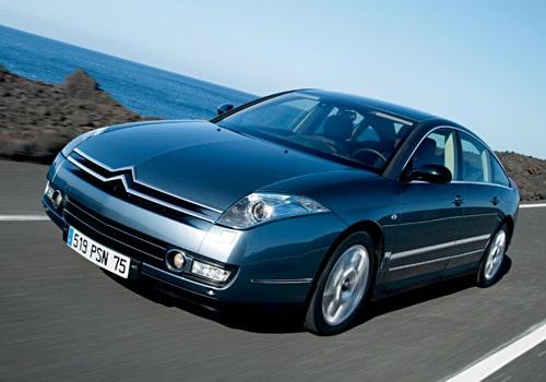 Provkörning av Citroën C6
