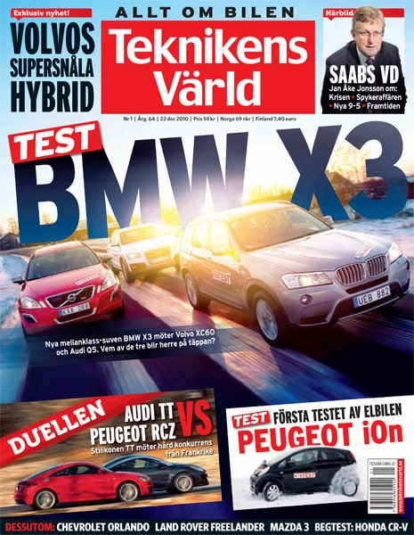 Teknikens Värld nummer 1 / 2011