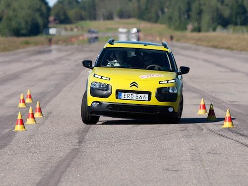 I Teknikens Värld nummer 22/2015 klarade Citroën C4 Cactus 76 km/h.