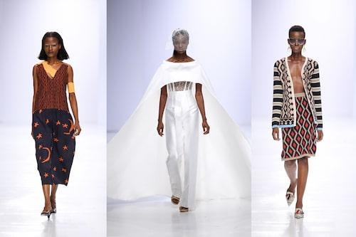 T.v: Maki OH, Imad Uduso, Maxhosa by Laduma under Lagos Fashion Week.