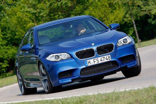 BMW M5 F10. 2011-. Endast som Sedan och kommer förmodligen att förbli så.