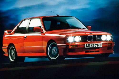 BMW M3 E30. 1986-1991. Karossversioner: Sedan och Cabriolet.