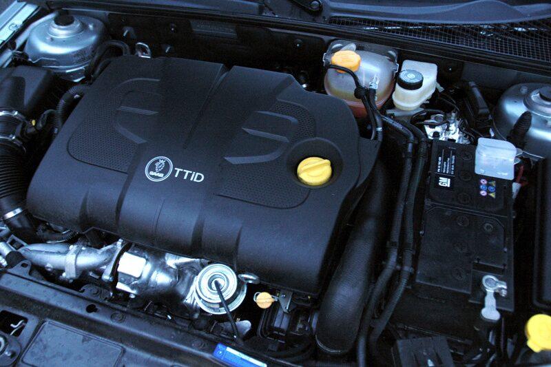 Med dieselmotor under huven går det bara att få 9-3X tvåhjuls driven.