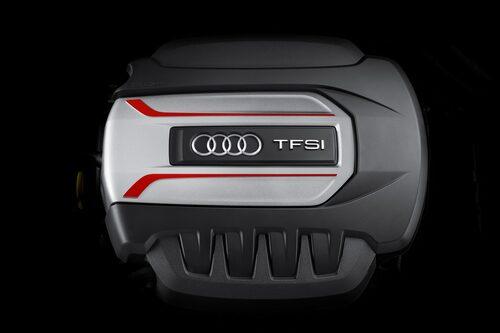 Motorn i Audi S1