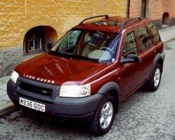 Provkörning av Land Rover Freelander Td4