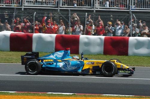 Fernando Alonso gav Renault de senaste framgångarna genom att bli världsmästare 2005 och 2006.