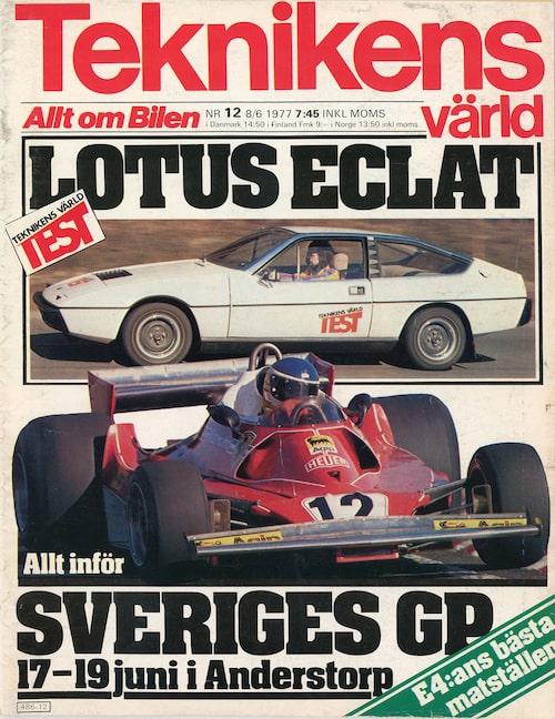 Det var i Teknikens Värld nummer 12/1977 som vi körde tredje generationens Chevrolet Caprice för första gången.
