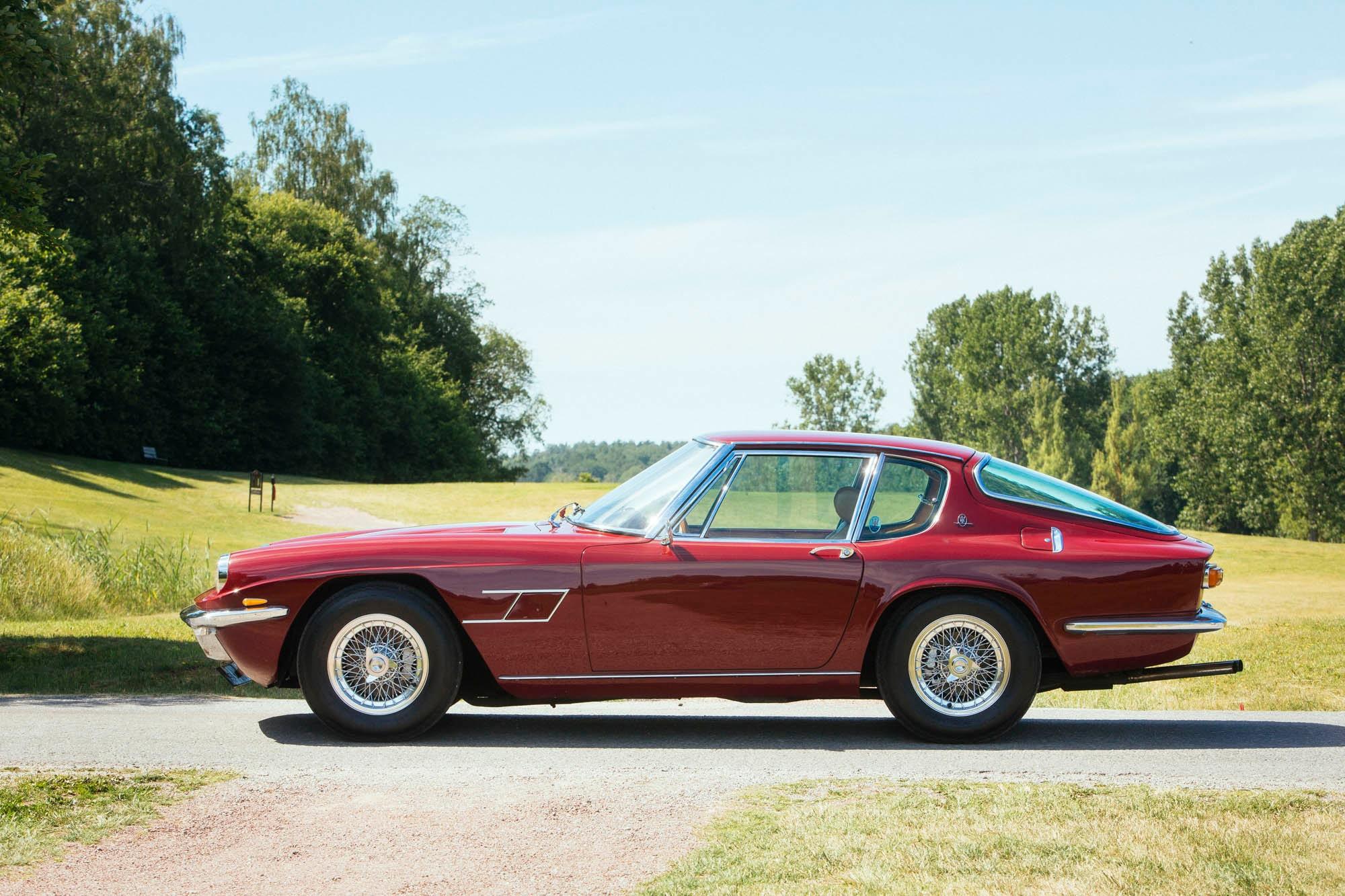 Maserati Mistral 3700 provkörning | Teknikens Värld