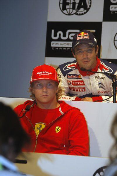 Räikkönen och Loeb kör båda Citroën 2010.