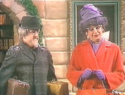Jullovsmorgnarna blev ännu bättre med Toffelhjältarna.