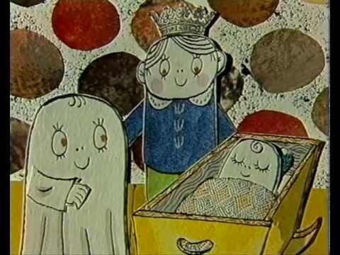 Gulliga Laban hans syster Labolina var inte särskilt läskiga - trots att de var spöken.