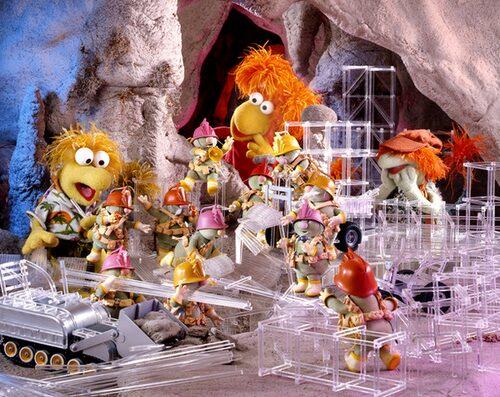 Fragglarna, ett av barndomens bästa program.