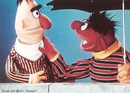Vi älskade allt med Sesam och skrattar fortfarande högt åt kakmonstret.