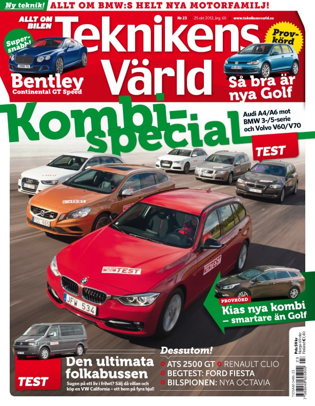Teknikens Värld nummer 23 / 2012