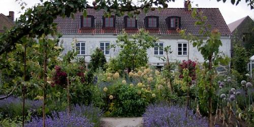 Mandelmanns trädgårdar är ett givet besök för hungriga ekoälskare.