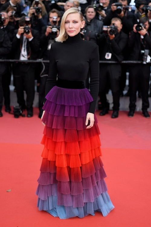 Cate Blanchett i Givenchy Haute Couture.