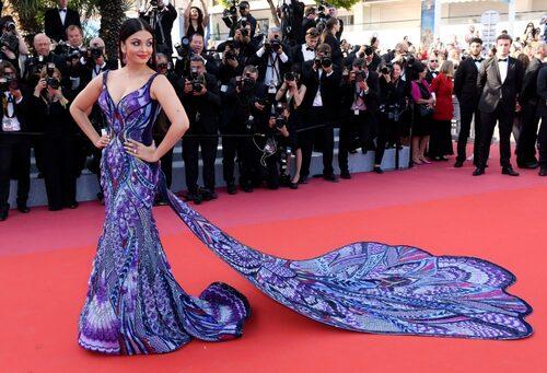 Aishwarya Rai Bachchan i Michael Cinco Couture.