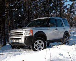 Provkörning av Land Rover Discovery 3 TdV6