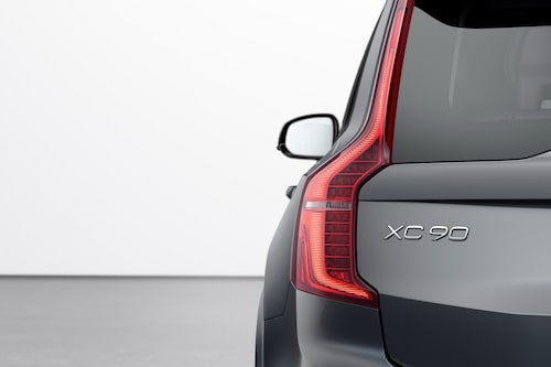 Volvo XC90 T8 Twin Engine R-Design facelift 2020 Thunder grey