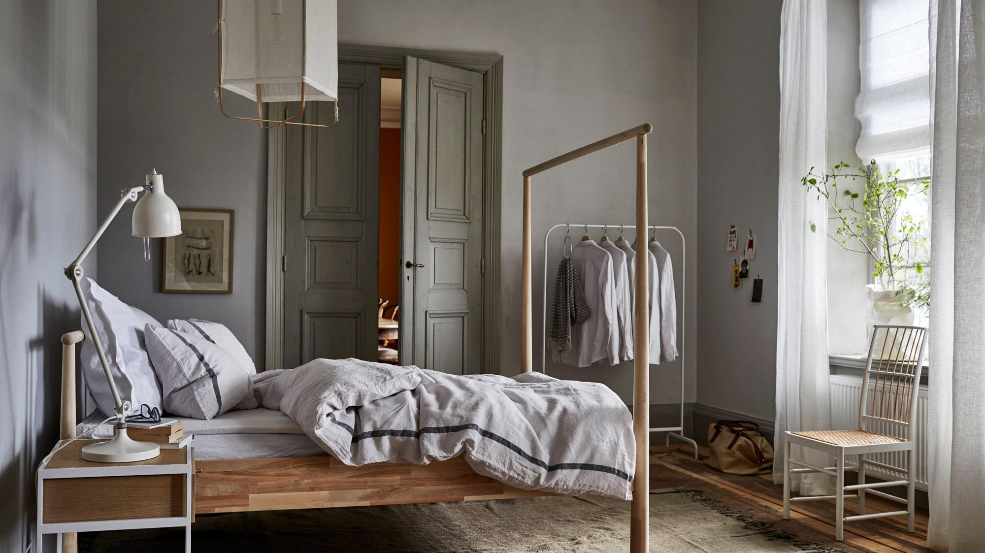 hur inreder man ett sovrum