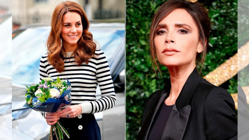 Kate Middleton och Victoria Beckham avslöjar sina favoritparfymer.