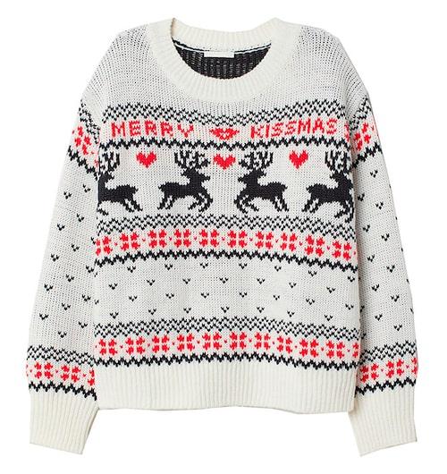 Mysig jultröja från H&M.
