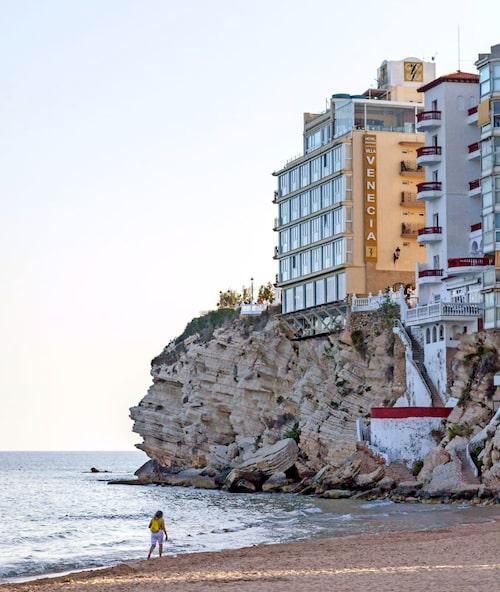 Lyxhotellet Villa Venecia har en av Benidorms bästa utsikter.