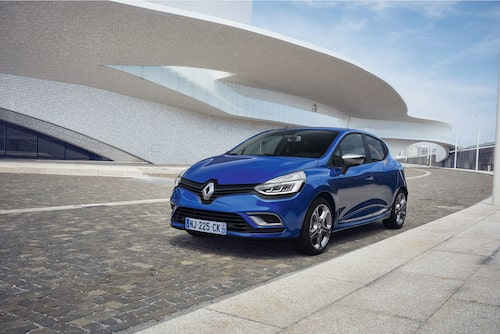Renault Clio med paketet  GT-Line.
