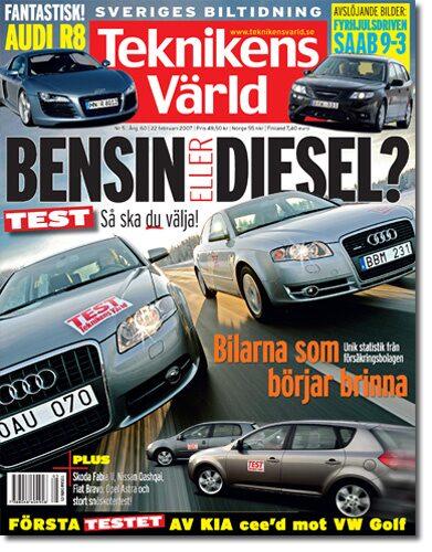 Teknikens Värld nummer 5 / 2007