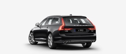 Volvo V90 T6 AWD Inscription i Onyx Black...