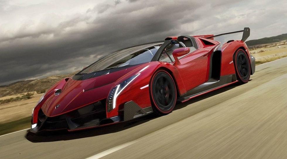 Lamborghini Veneno Roadster.