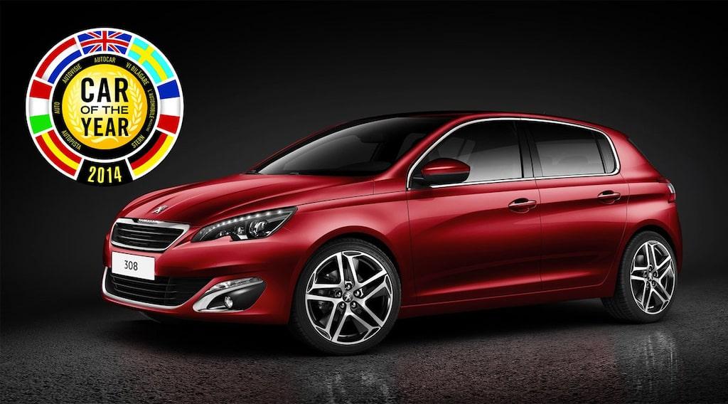 Årets Bil 2014: Peugeot 308